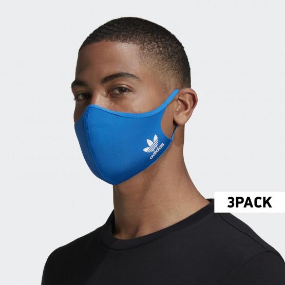 adidas Originals 3-Pack Medium-Large Face Masks