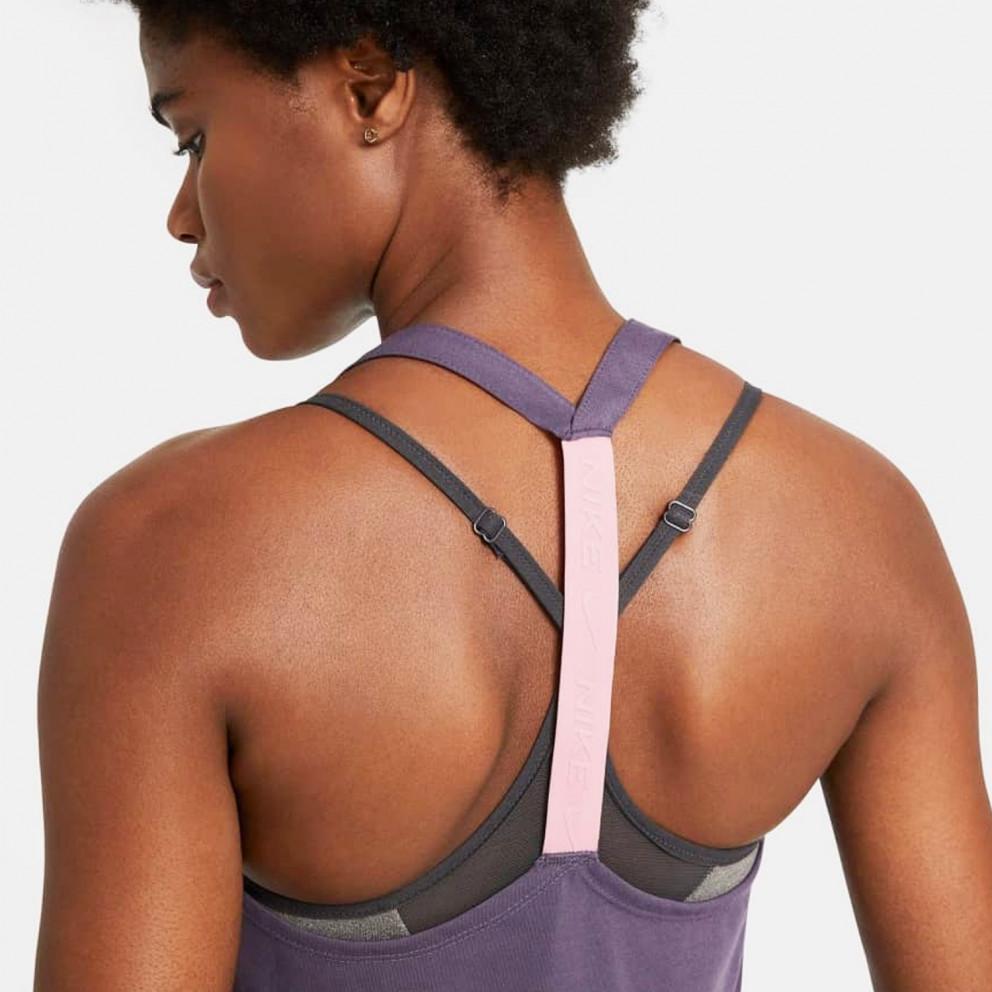 Nike Dry Essential Elastika Γυναικεία Αμάνικη Μπλούζα