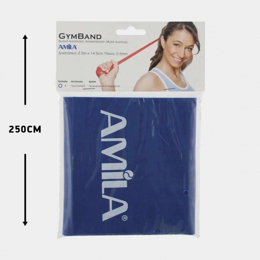 Amila Λάστιχο Gym Band, Hard 250 X 0,5 Cm