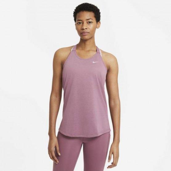 Nike Dry Essential Elastika Γυναικείο Αμάνικο T-shirt