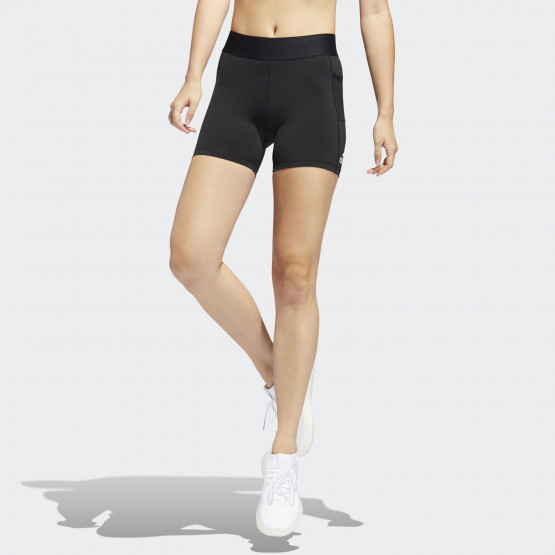 "adidas Performance Techfit 4"" Women's Biker Shorts"