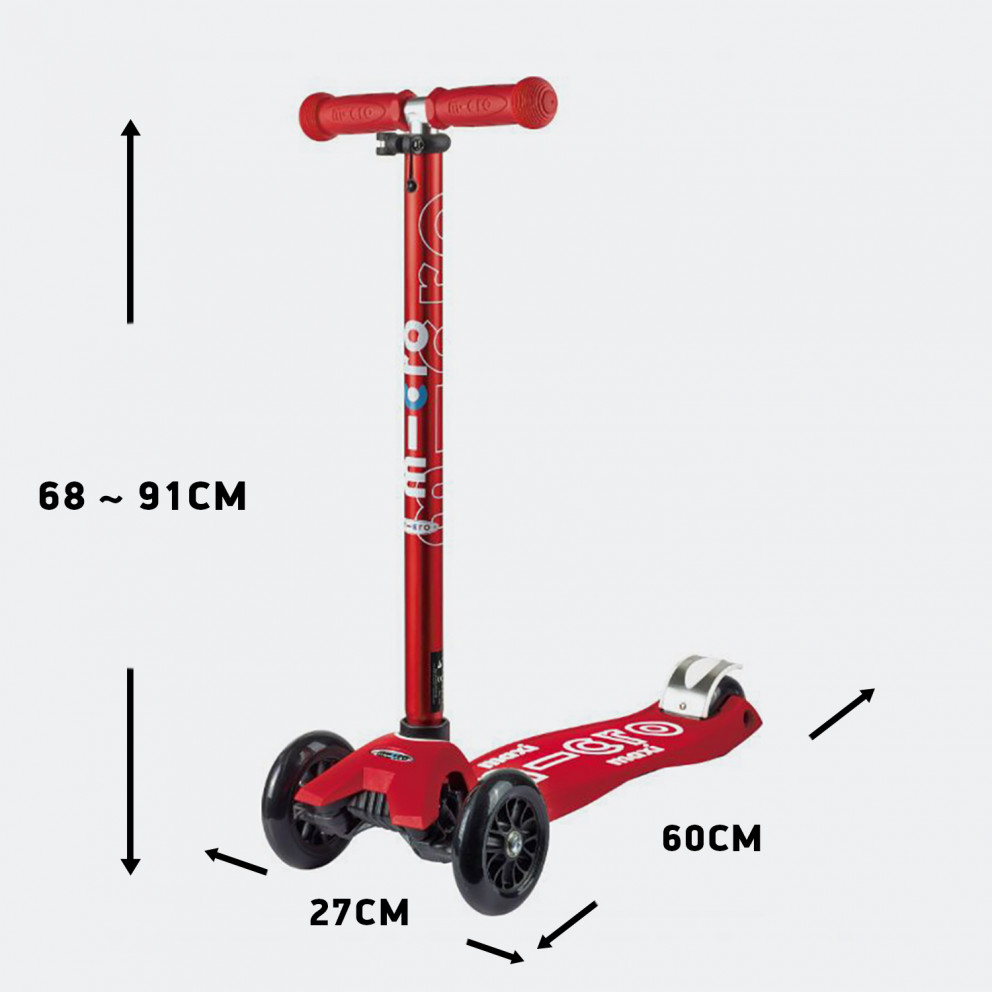 Micro Maxi Deluxe Kids' Scooter, 60 X 16 X 27 Cm