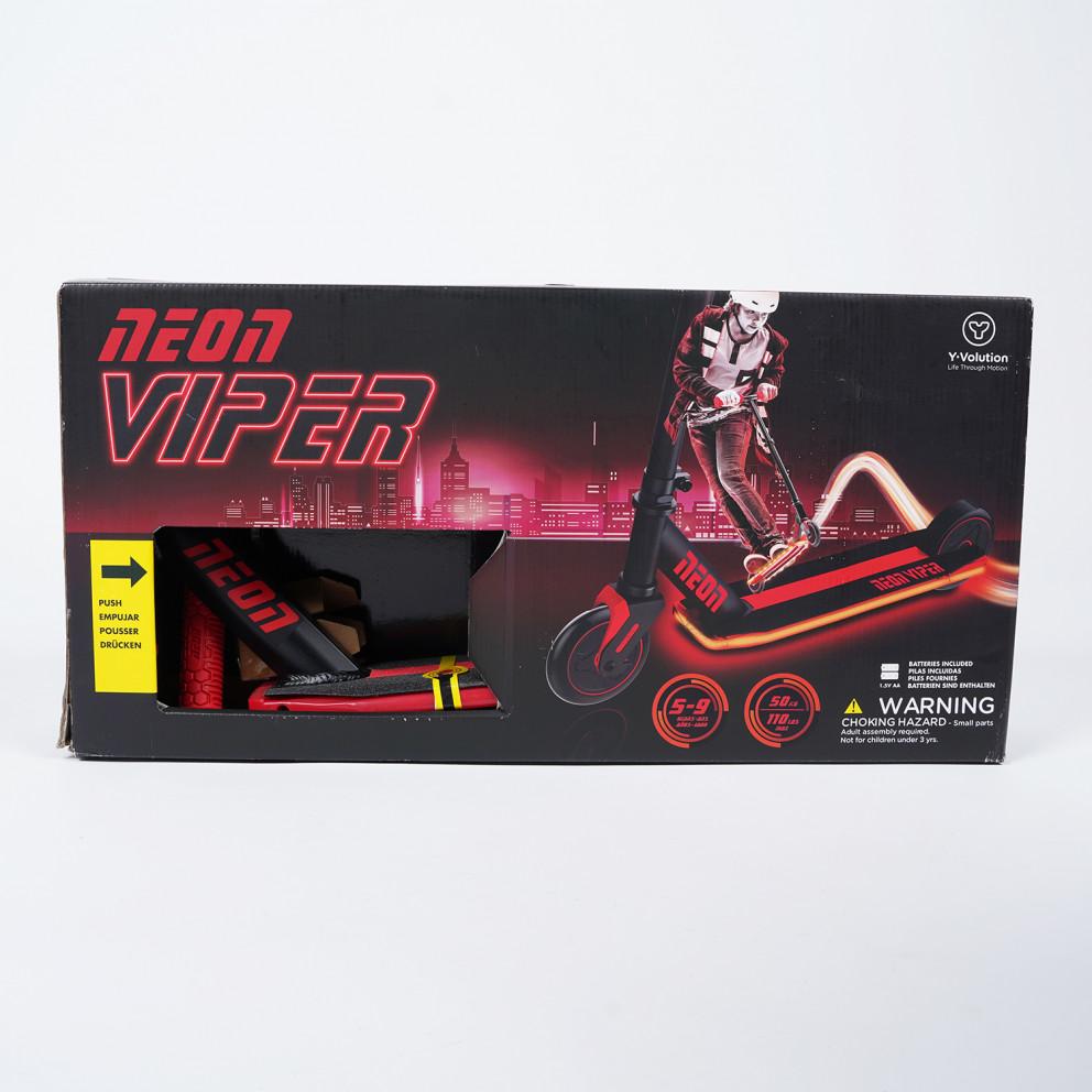 Y-Volution Πατίνι Neon Viper Red