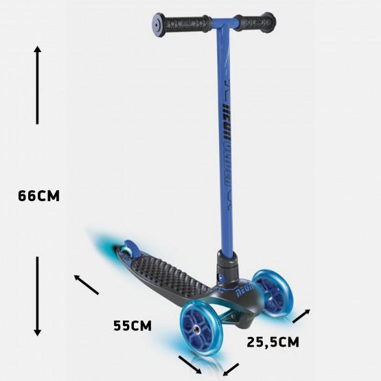 Athlopaidia Three-wheeled Skate Neon Glider Blue