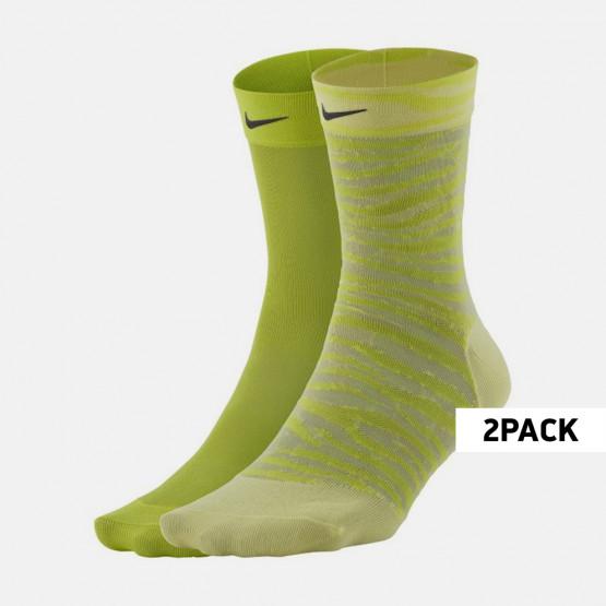 Nike Sheer Ankle Γυναικείες Κάλτσες 2-Pack