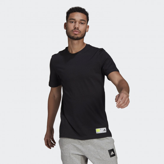adidas Performance Tech Grade Athletics Graphic Tee Ανδρικό T-shirt