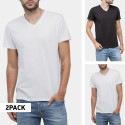 Lee Twin Pack V Neck 2 Pack Mix