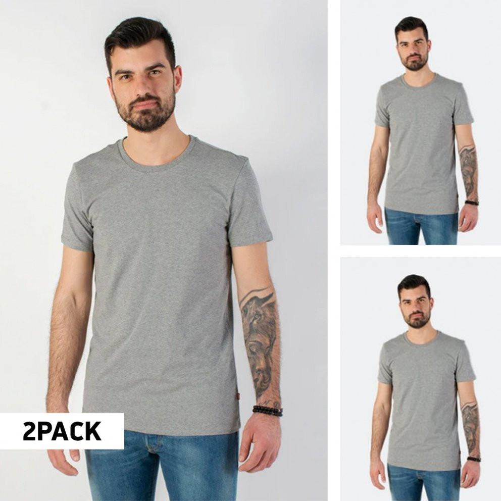 Levi's Men'S 2 Pack Crewneck T-Shirt - Ανδρική Μπλούζα