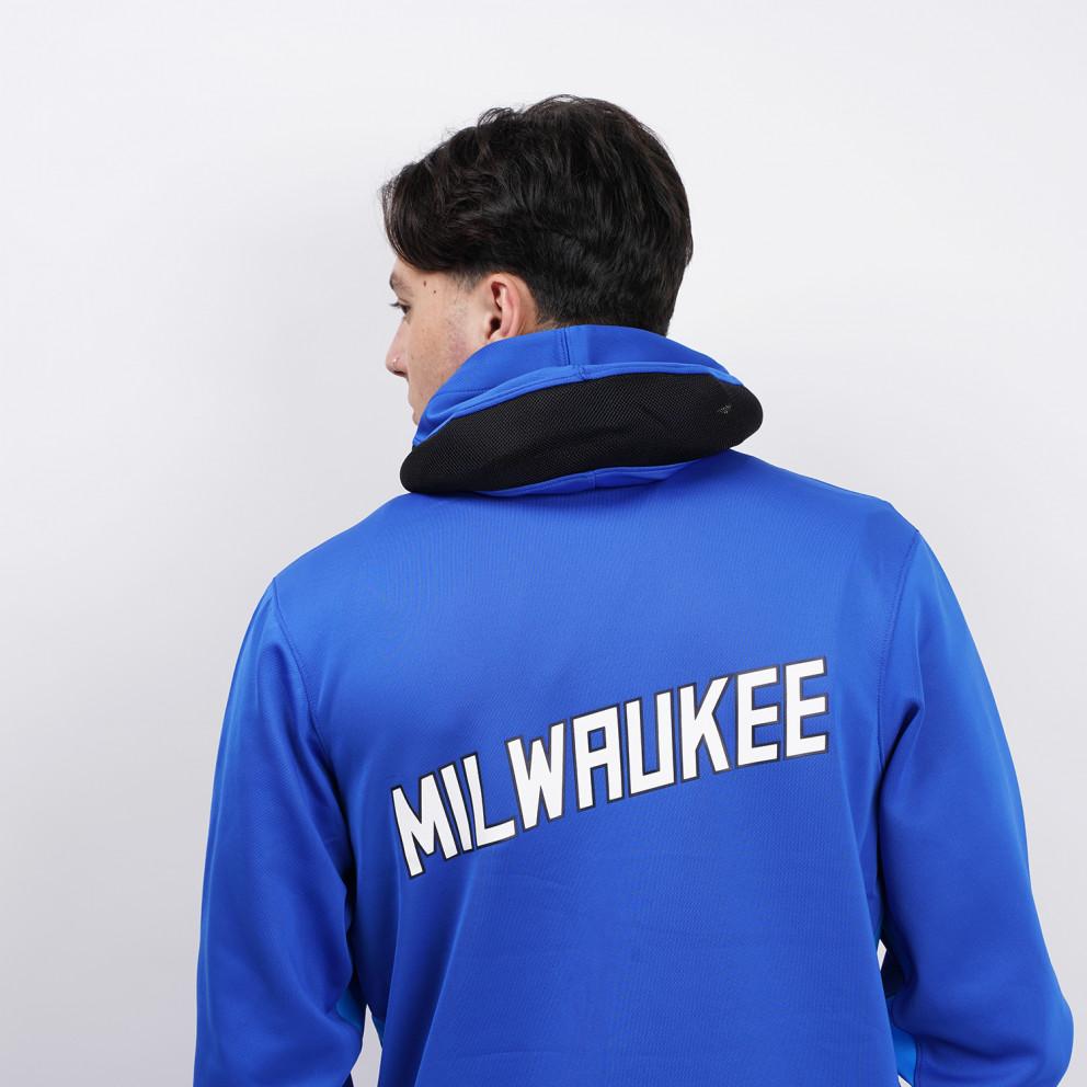 Nike Therma Flex NBA Milwaukee Bucks Showtime City Edition Men's Hoodie