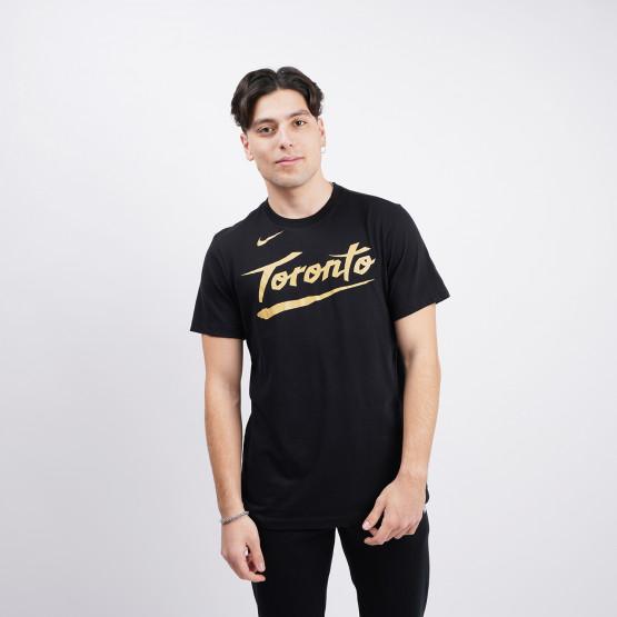 Nike NBA Toronto Raptors City Edition Ανδρικό T-Shirt