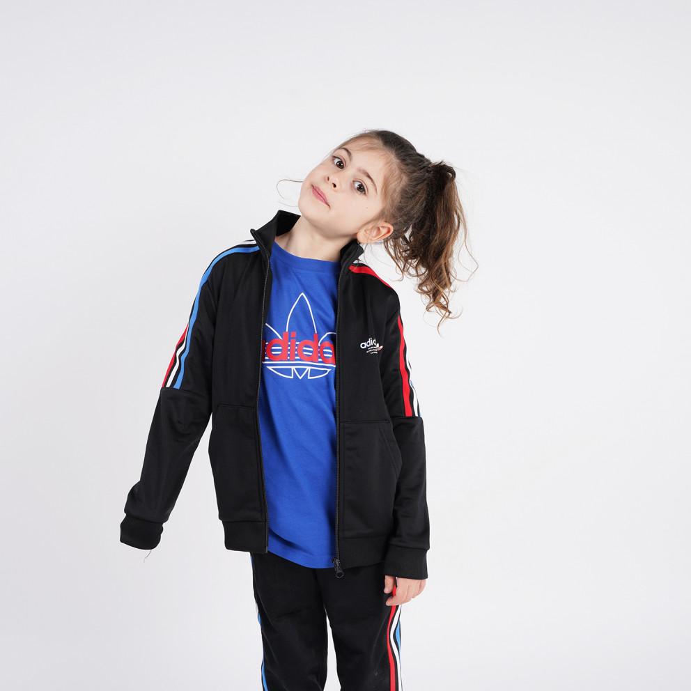 adidas Originals Adicolor Tricolor Kids' Track Jacket
