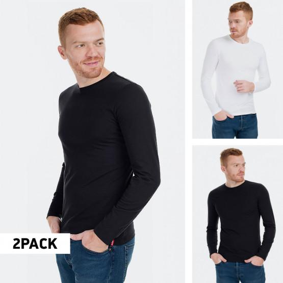 Levi's Crewneck Ls 2 Pack Men's Long-sleeve T-Shirts
