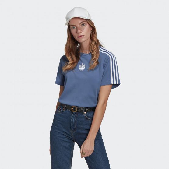adidas Originals Adicolor 3D Trefoil Loose Γυναικείο T-Shirt
