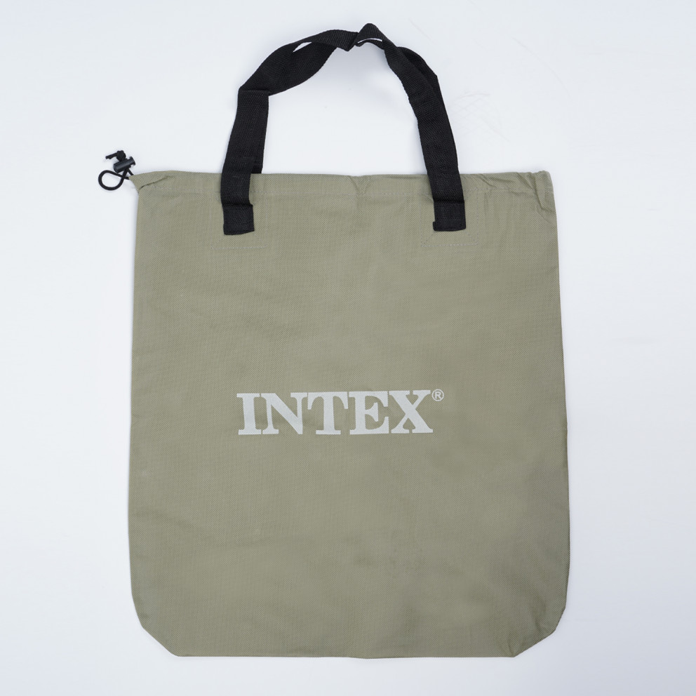 INTEX Pillow Rest Mid-Rise Double Airbed Matress 152 X 203 X 30 Cm
