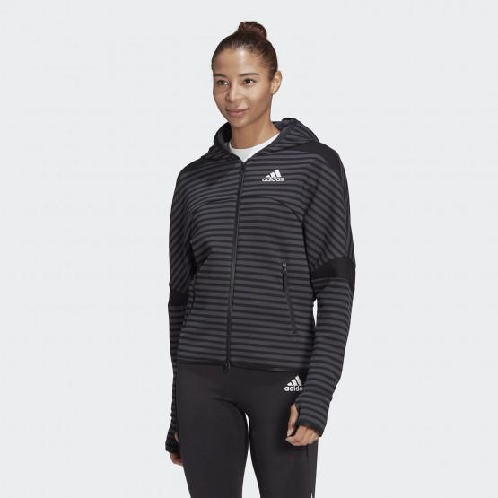 adidas Performance ZNE Stripe Allover-Print Γυναικεία Ζακέτα