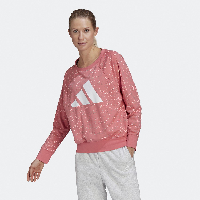 adidas Performance Sportswear Winner Badge of Sports Γυναικείο Φούτερ (9000074397_49832)