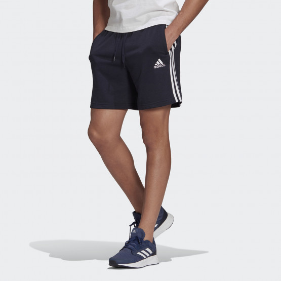 adidas Performance Essentials French Terry 3-Stripes Men's Shorts