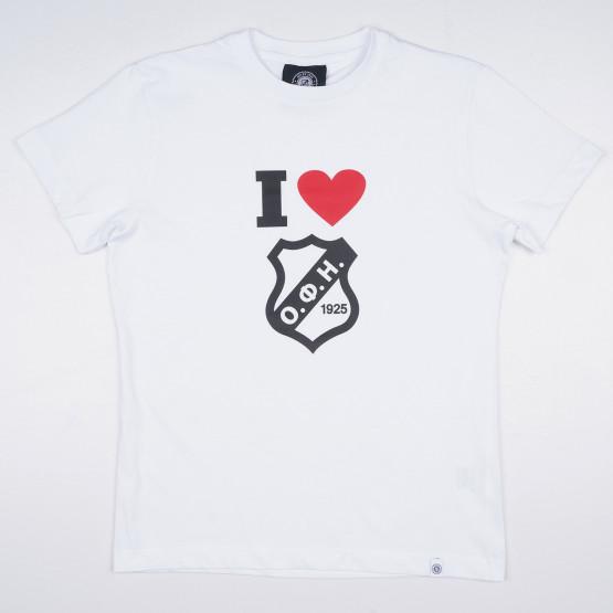 OFI Crete F.C 'I Love OFI' Kids' T-Shirt