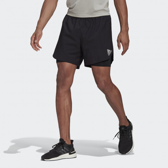 adidas Performance Fast 2-In-1 Men's Shorts
