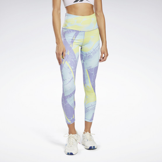Reebok Sport Workout Ready Printed Γυναικείο Κολάν