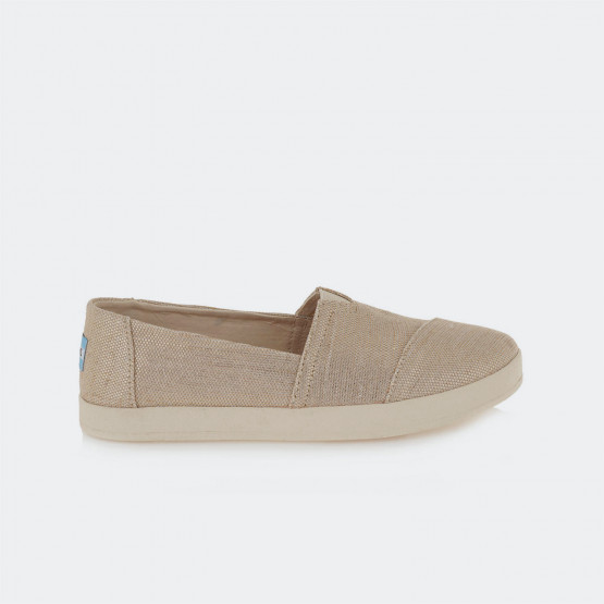 TOMS Slipon Avalon Rose Gold Met Woven Wm Ava Slip