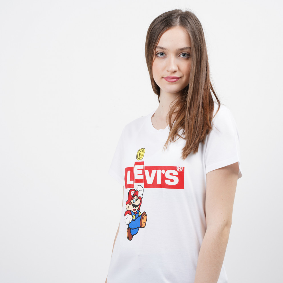 Levis The Perfect Tee Super Mario Women's T-shirt