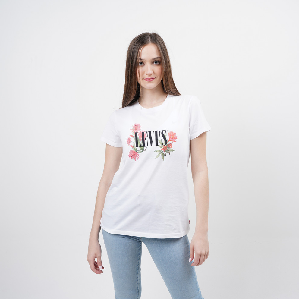 Levis The Perfect Tee Cactus Flower Serif Γυναικεία Μπλούζα
