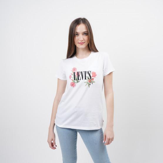 Levis The Perfect Tee Cactus Flower Serif Γυναικεία Μπλούζα