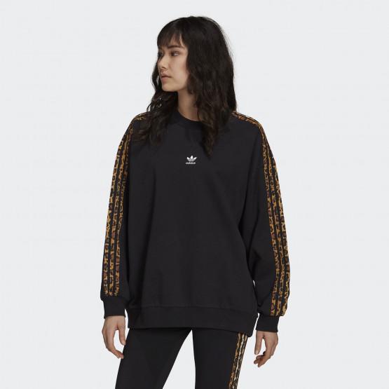 adidas Originals Crew Animal Print Γυναικείο Φούτερ