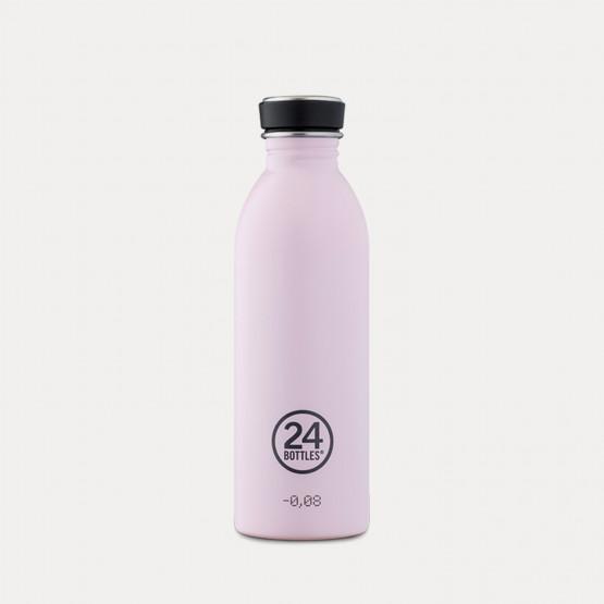 24Bottles Urban Stainless Steel Bottle Candy Pink 500ml