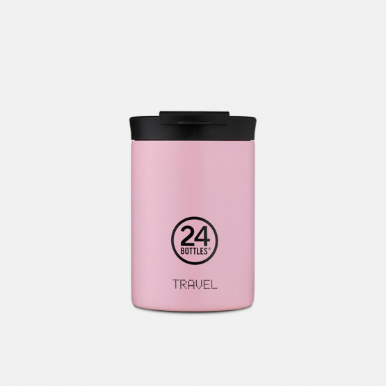 24Bottles Travel Tumbler Candy Pink Stainless Steel Cup 350ml