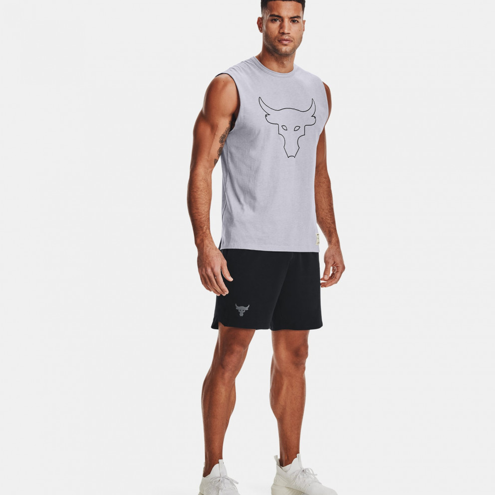 Under Armour Project Rock Show Your Work Αμάνικο T-Shirt