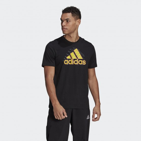adidas Performance Jungle Logo Graphic Ανδρικό T-Shirt