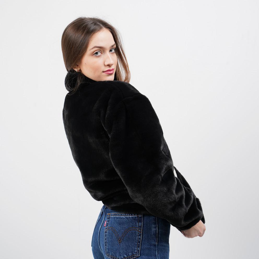 Nike Sportswear Faux Fur Γυναικεία Ζακέτα