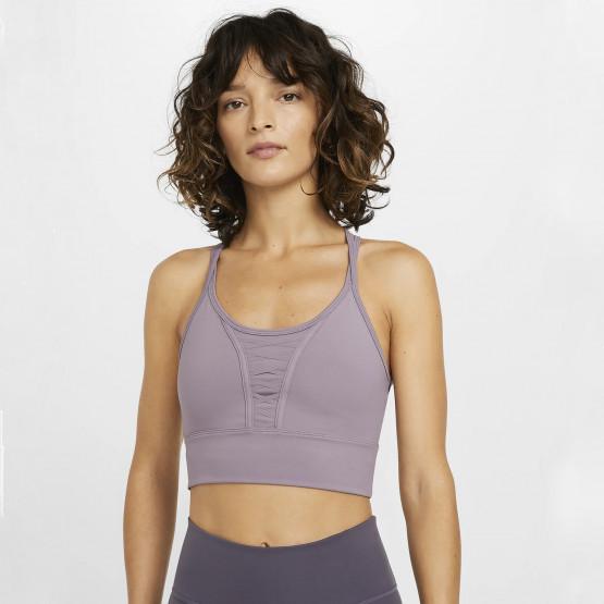 Nike Dry Cropped Laced Training Tank Γυναικείο Αθλητικό Σουτιεν
