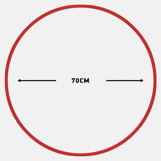 Amila Χούλα-Χουπ 70Cm - Φ19Mm - 280Gr, Κόκκινο