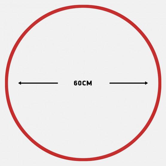Amila Χούλα-Χουπ 60Cm - Φ19Mm - 230Gr, Κόκκινο