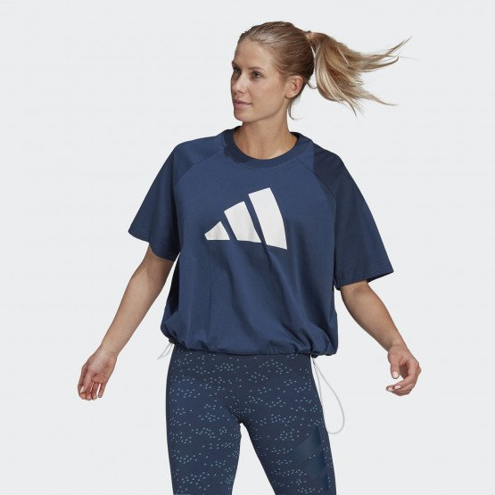 adidas Performance Sportswear Adjustable Badge Of Sports Women's Tee