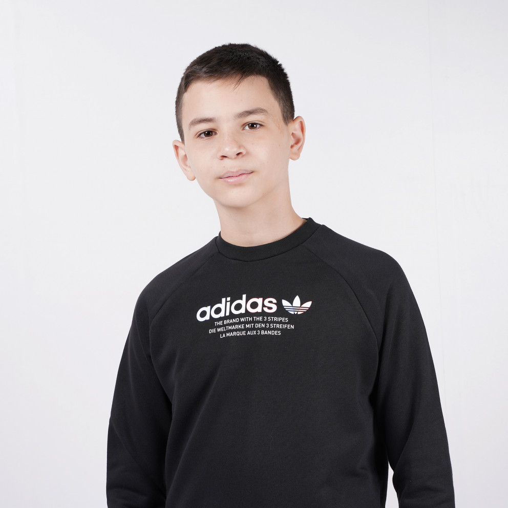 adidas Originals Adicolor Crew Παιδική Μακρυμάνικη Μπλούζα