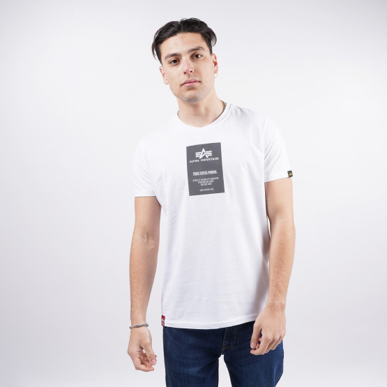 Alpha Industries Reflective Label Men's T-Shirt