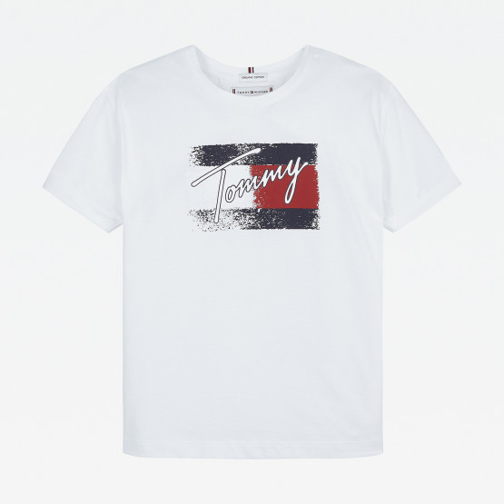 Tommy Jeans Flag Print Βρεφικό T-shirt