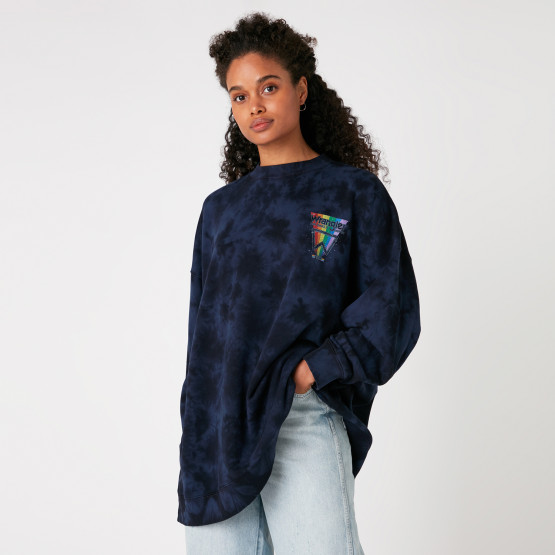 Wrangler Oversized Sweat Navy Irreg. Dye