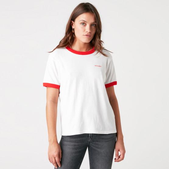 Wrangler Relaxed Ringer Γυναικείο T-Shirt
