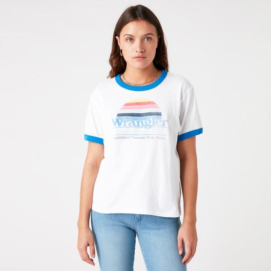 Wrangler Relaxed Ringer Women's T-shirt