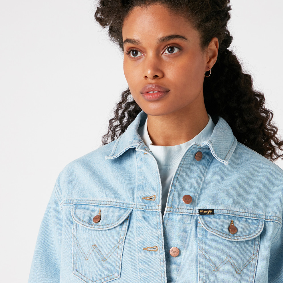 Wrangler Western Utility Women's Denim Jacket