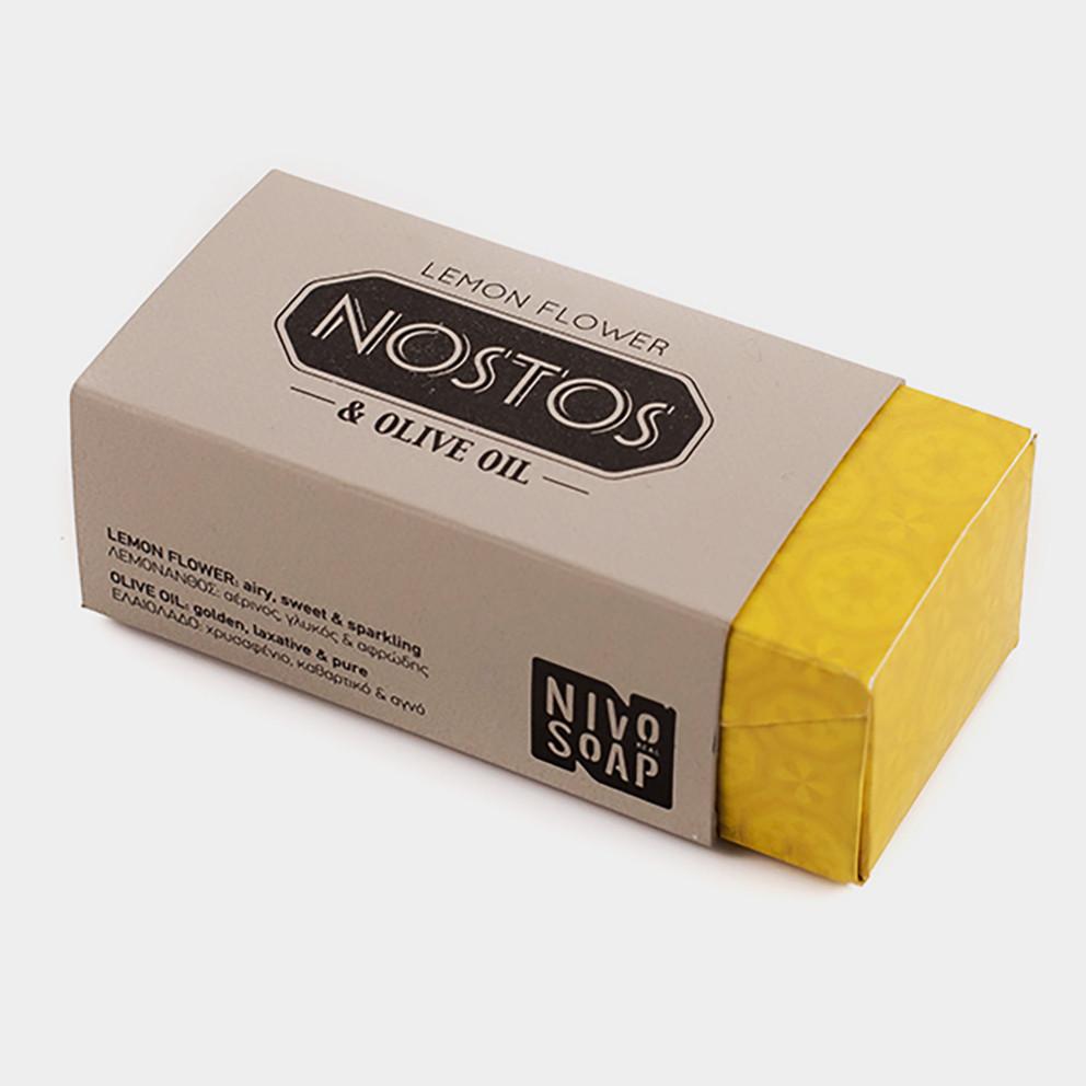 Nivosoap Nostos Lemon Flower & Olive Oil Soap Bar 80g
