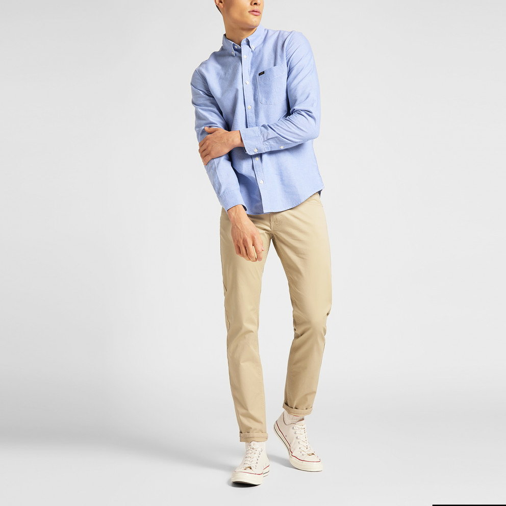 Lee Lee Button Down Washed Blue