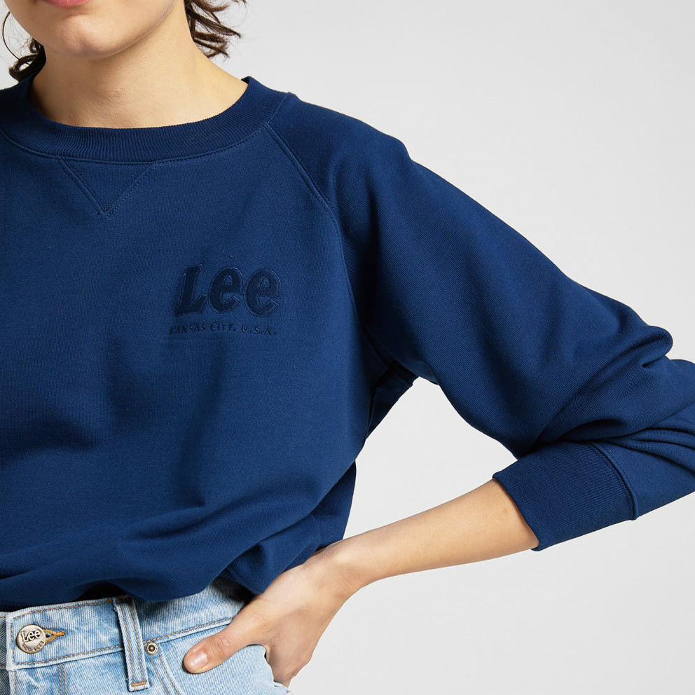 Lee Vintage Cropped Sws Γυναικείο Φούτερ