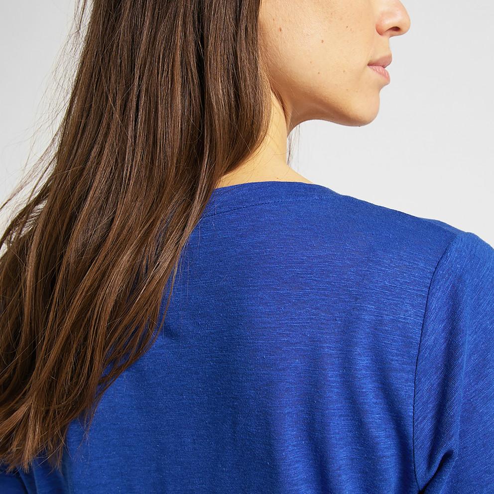 Lee V Neck Tee Surf Blue