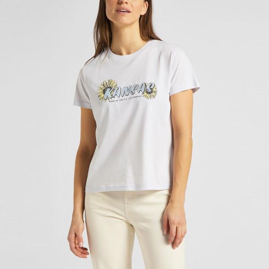 Lee Kansas Graphic Γυναικείο T-Shirt